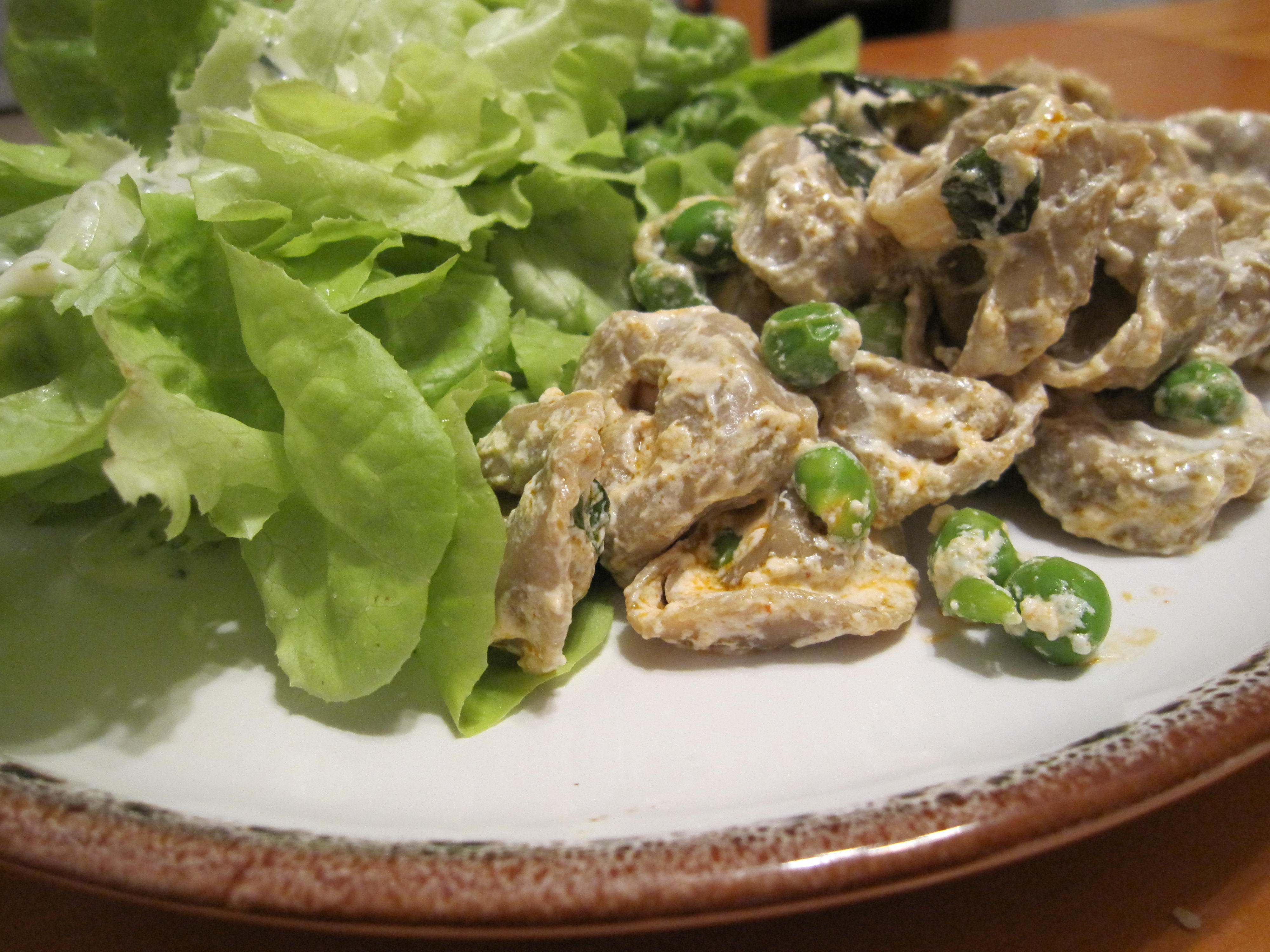 tortellini with yogurt and smoked paprika | Thyme and Reason